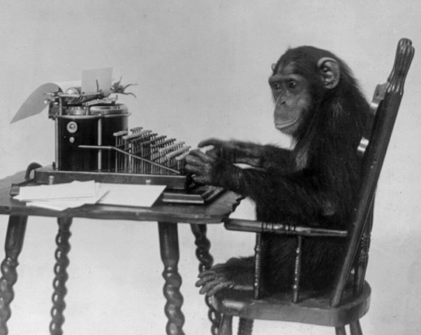 603px-Chimpanzee_seated_at_typewriter