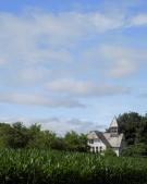 School House in a Corn Field Fort Hunter NY